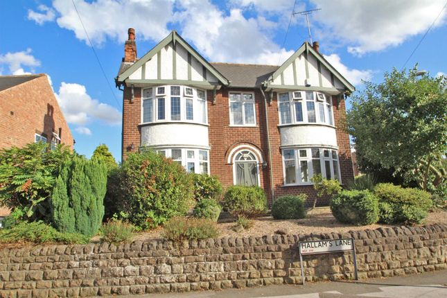 Thumbnail Detached house for sale in Hallams Lane, Arnold, Nottingham