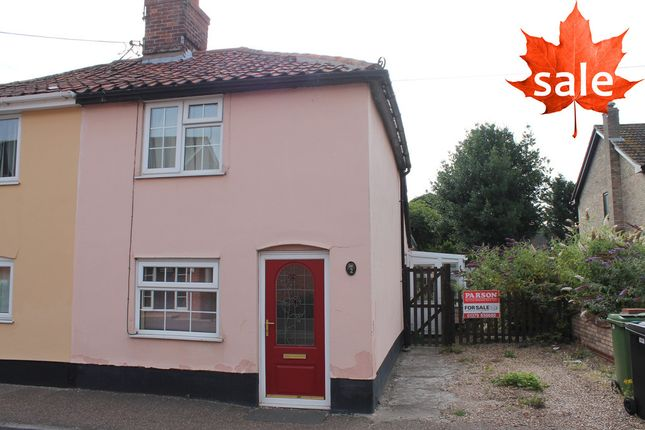 Thumbnail Semi-detached house for sale in Riverside Maltings, Rose Lane, Diss