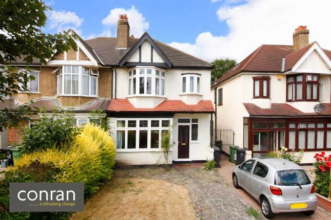 Thumbnail Semi-detached house to rent in College Park Close, Lewisham