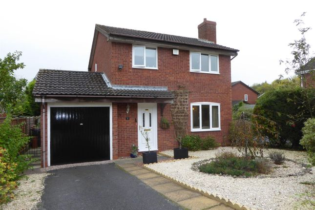 Thumbnail Detached house for sale in Fairways Drive, Madeley, Telford