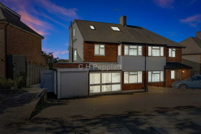 Thumbnail Semi-detached house for sale in Chandos Avenue, Southgate