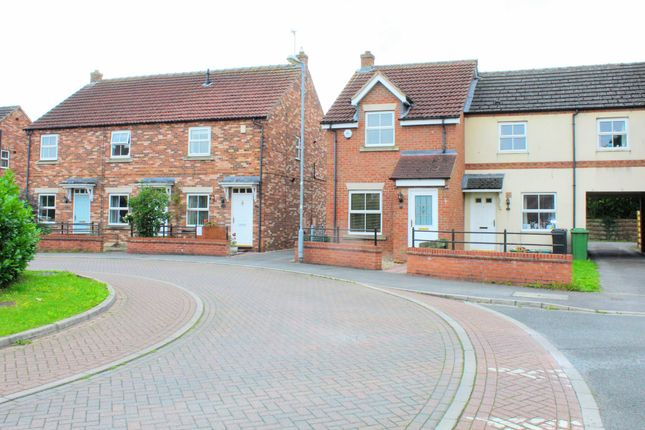Thumbnail Semi-detached house for sale in Chatsworth Avenue, Strensall, York