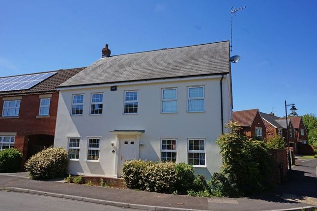 Thumbnail Semi-detached house for sale in Burge Crescent, Cotford St. Luke, Taunton