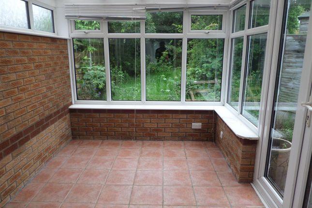 Conservatory of Foxfield Close, Fearnhead, Warrington WA2