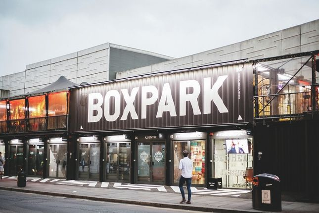 Box Park of Commercial Street, London E1