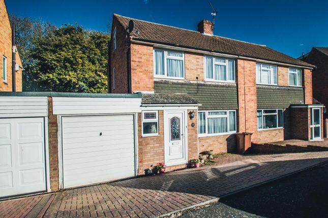 Thumbnail Semi-detached house for sale in Hinton Crescent, Hempstead, Gillingham