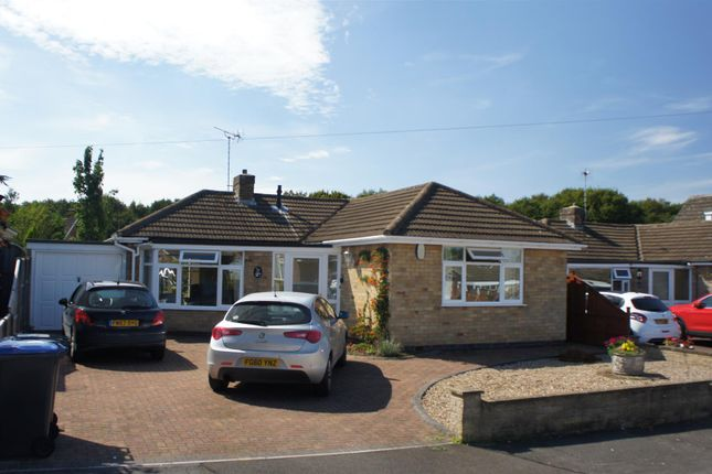 Thumbnail Detached bungalow for sale in Fern Crescent, Groby, Leicester