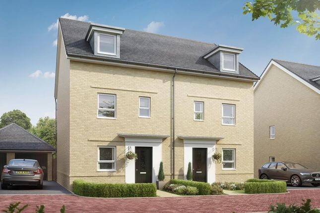 """4 bed end terrace house for sale in """"Rochford"""" at Lower Road, Hullbridge, Hockley SS5"""