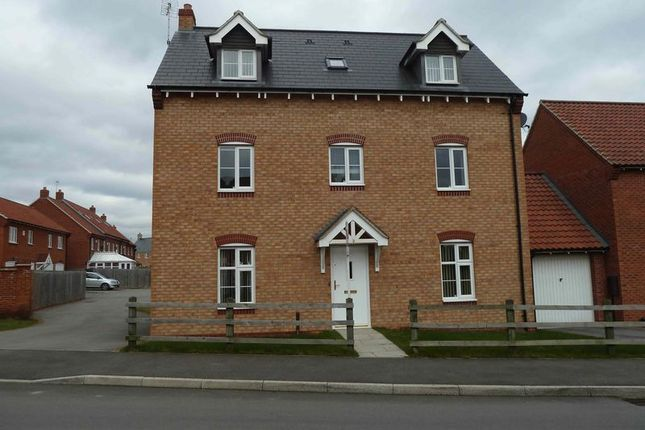 Thumbnail Detached house to rent in Leveret Chase, Witham St. Hughs, Lincoln