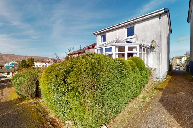 Thumbnail End terrace house for sale in Lochaber Road, Fort William