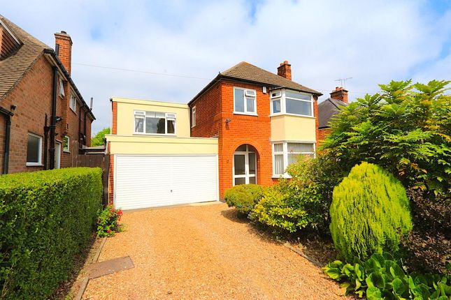 Thumbnail Detached house for sale in Faire Road, Glenfield, Leicester