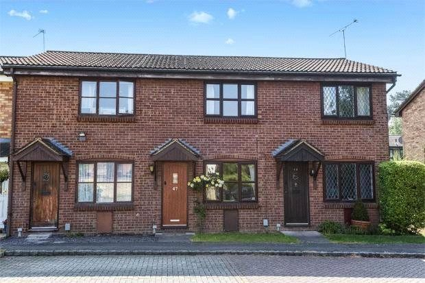 Thumbnail Terraced house to rent in Habershon Drive, Frimley, Camberley, Surrey
