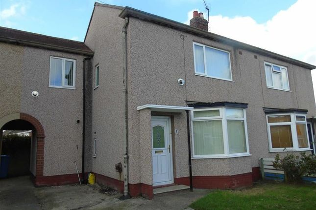 Thumbnail Semi-detached house to rent in Hen Afon Road, Rhyl, Denbighshire