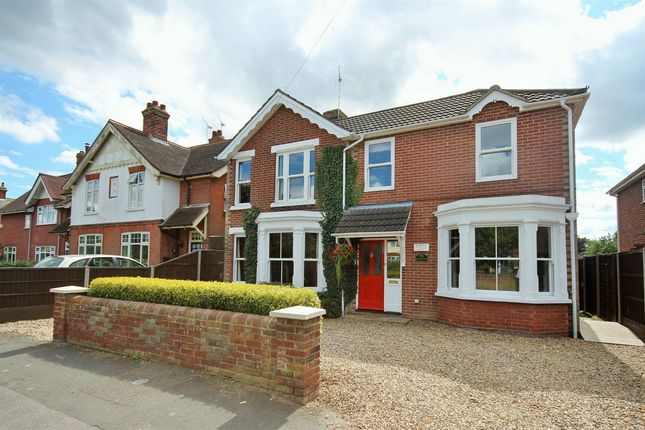 Thumbnail Detached house for sale in Heath Road, Lexden, Colchester, Essex