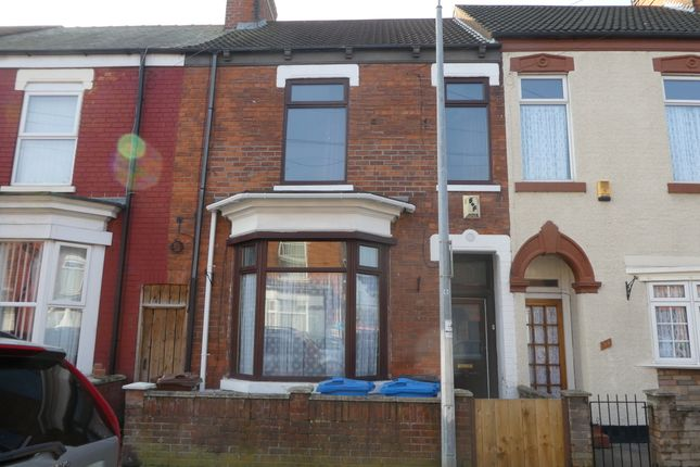 Thumbnail Terraced house to rent in Sherburn Street, Hull