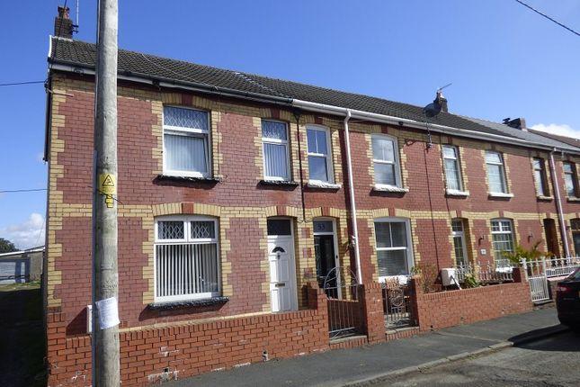 Thumbnail End terrace house for sale in Heathfield Avenue, Glynneath, Neath .