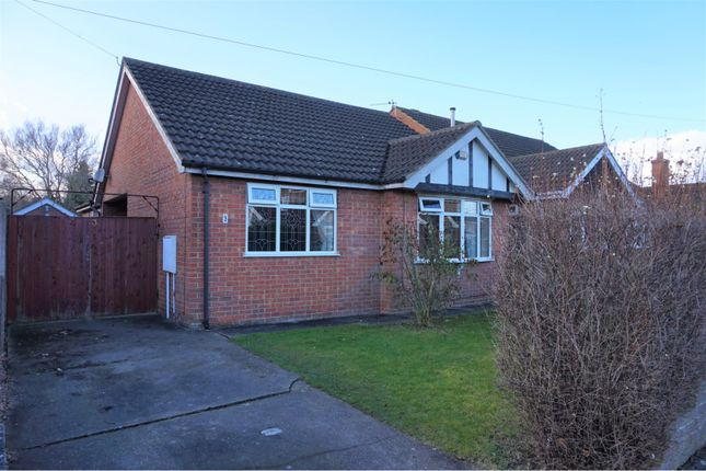 Thumbnail Detached bungalow for sale in Lindisfarne Avenue, New Waltham, Grimsby