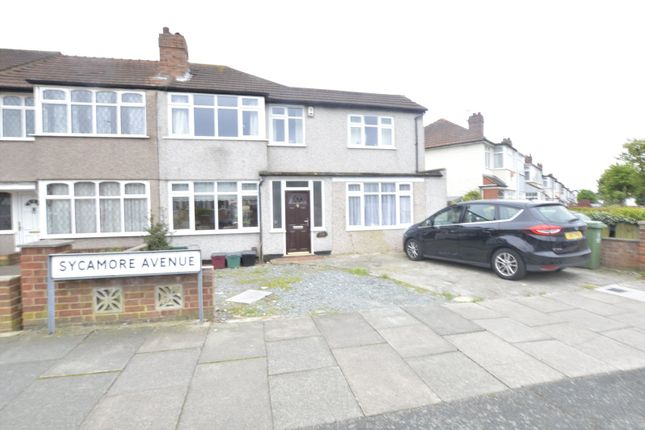Thumbnail End terrace house for sale in Sycamore Avenue, Sidcup, Kent
