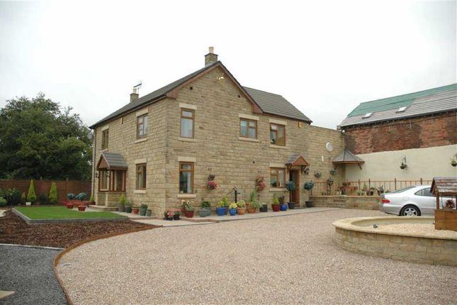 Thumbnail Farmhouse for sale in Newton Wood Lane, Newton, Alfreton