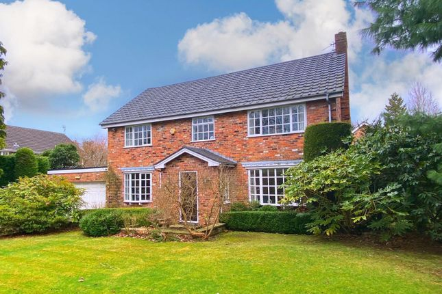 Thumbnail Detached house for sale in Wilmslow Park North, Wilmslow