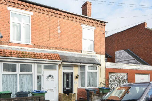 Thumbnail Terraced house for sale in Ethel Street, Bearwood