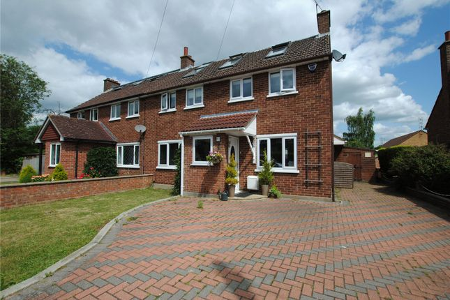 Thumbnail Semi-detached house for sale in Park View Crescent, Great Baddow, Chelmsford, Essex