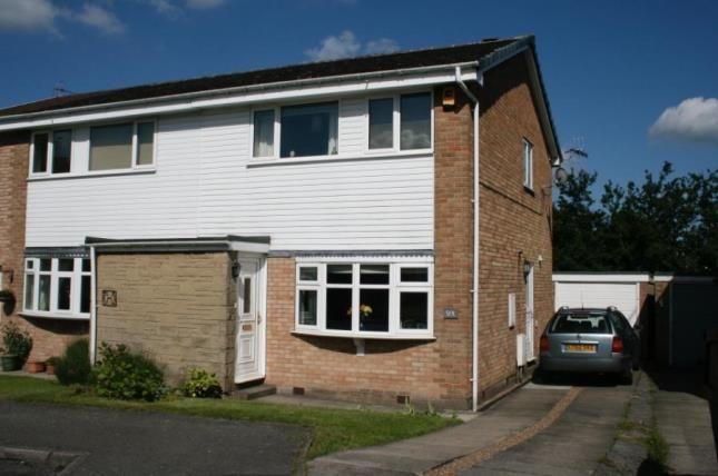 Thumbnail Semi-detached house for sale in Ivanbrook Close, Dronfield Woodhouse, Dronfield, Derbyshire