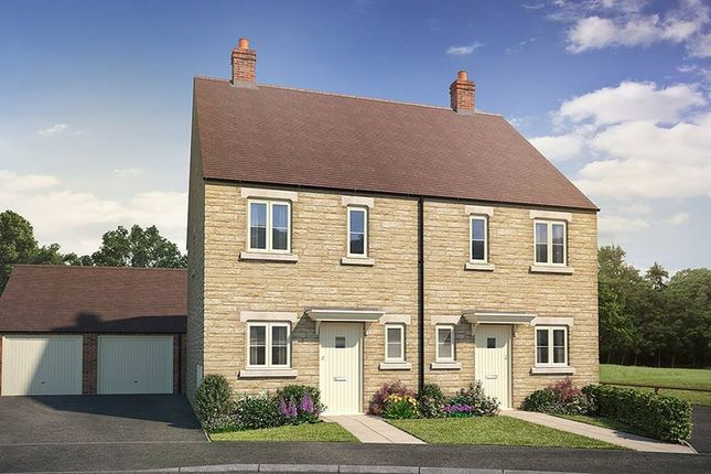 """Thumbnail Semi-detached house for sale in """"The Bray"""" at Todenham Road, Moreton-In-Marsh"""