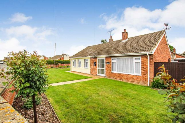 Thumbnail Detached bungalow for sale in Millcroft, Soham, Ely