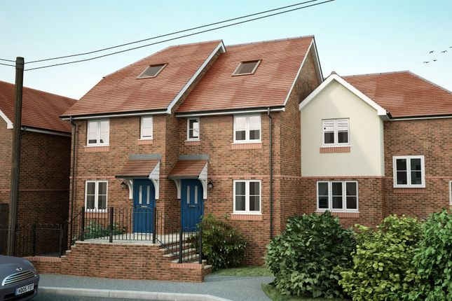 Thumbnail End terrace house for sale in Sherborne Way, Hedge End, Southampton