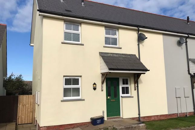 2 bed terraced house to rent in Maes Waldo, Fishguard SA65