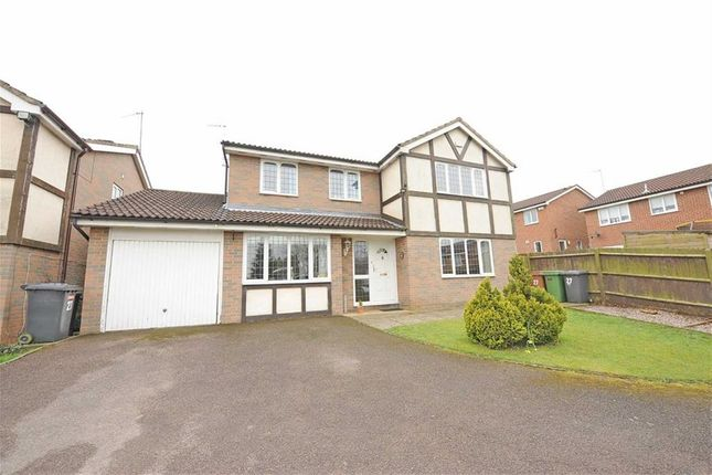 Thumbnail Detached house for sale in Holcot Close, Wellingborough
