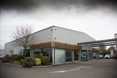 Thumbnail Retail premises to let in Shukers Car Dealership (Whole Site), Parys Road, Ludlow, Shropshire