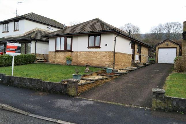 Thumbnail Detached bungalow for sale in Plas Derwen View, Abergavenny