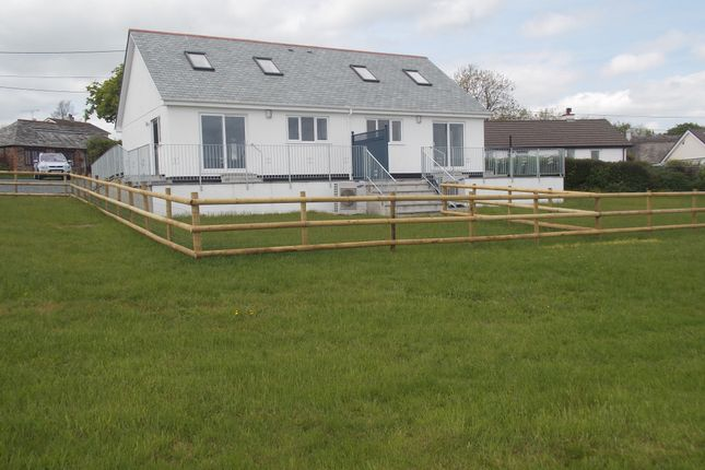 Thumbnail Semi-detached bungalow to rent in Boyton, Launceston, Cornwall