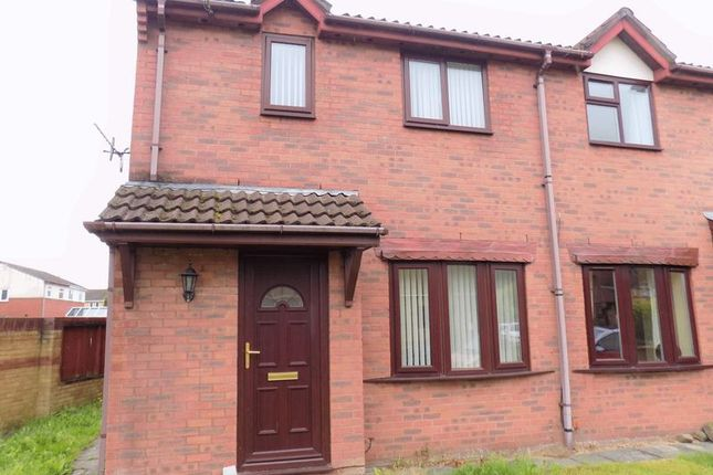 Thumbnail Semi-detached house to rent in Heol Erw Y Rhos, Caerphilly
