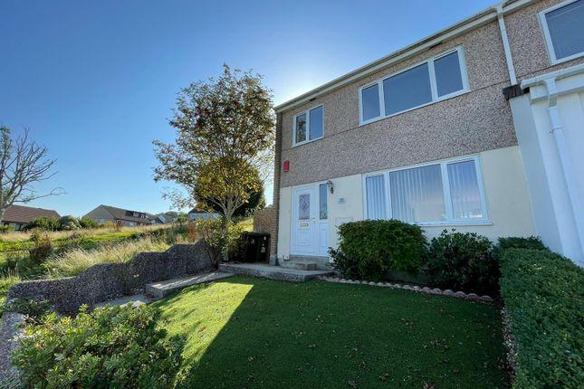 Thumbnail End terrace house to rent in Okehampton Close, Plympton, Plymouth