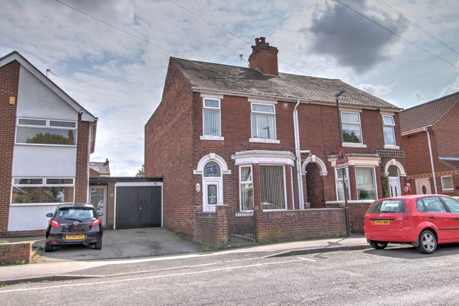 Thumbnail Semi-detached house for sale in Shirley Road, Ripley