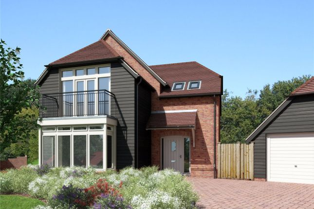 Thumbnail Detached house for sale in Colebrook Field, Bighton Hill, Ropley, Alresford