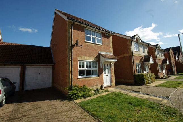 Thumbnail Detached house to rent in Dove Close, Kingsnorth, Ashford