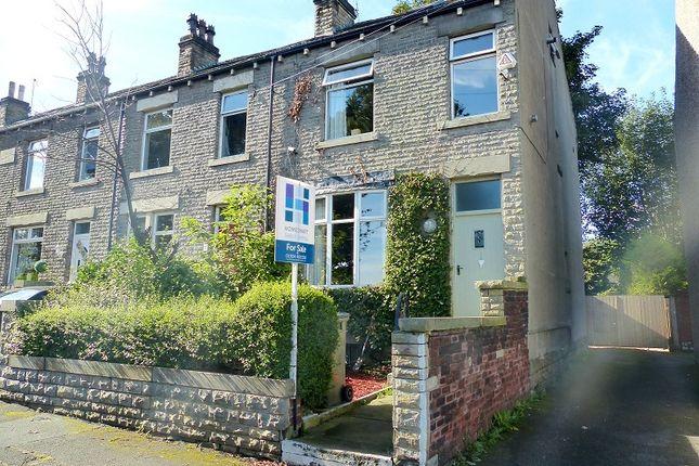 Thumbnail End terrace house for sale in Fair View, Liversedge, West Yorkshire.