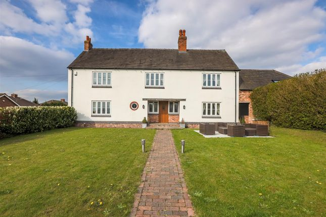 Thumbnail Detached house for sale in Piddocks Road, Stanton, Burton On Trent