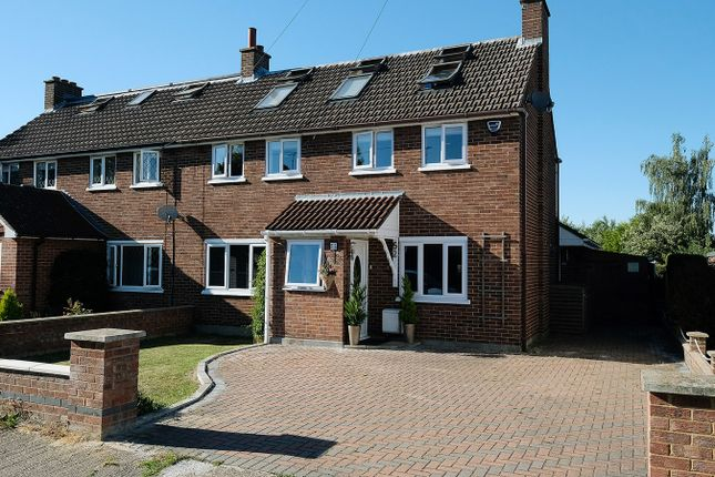 Thumbnail Semi-detached house for sale in Park View Crescent, Great Baddow, Chelmsford