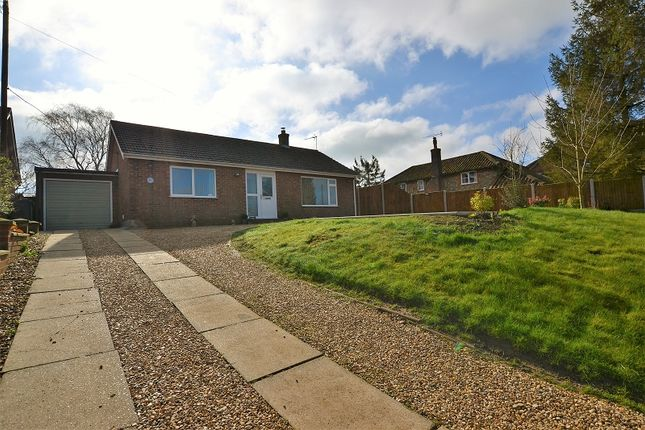Thumbnail Detached bungalow for sale in Litcham Road, Mileham, Kings Lynn, Norfolk.
