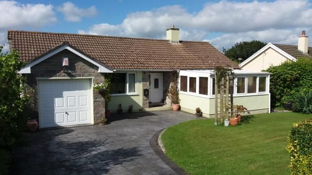 Thumbnail Bungalow for sale in Carlyon Bay, St. Austell, Cornwall