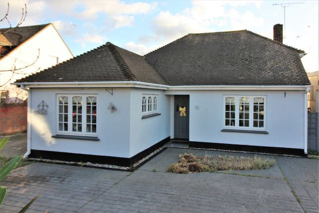Thumbnail Detached bungalow for sale in Leigh Road, Canvey Island