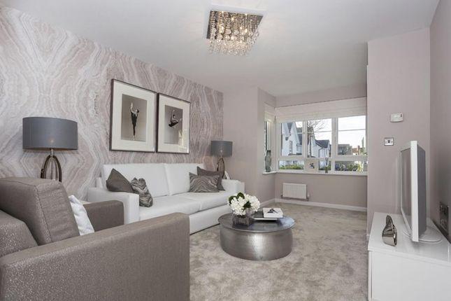 "Thumbnail Semi-detached house for sale in ""Airth"" at Kirklands Park Street, Kirkliston"