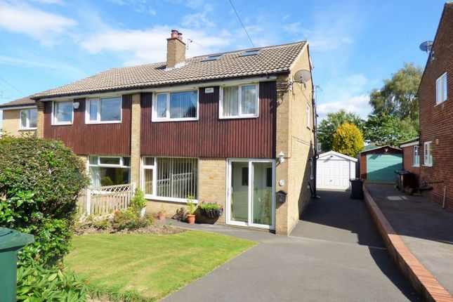 Thumbnail Semi-detached house for sale in Cornwall Crescent, Baildon, Shipley