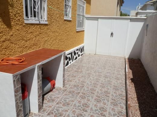 Entrance of Calle Alange, La Siesta, Torrevieja, Alicante, Valencia, Spain