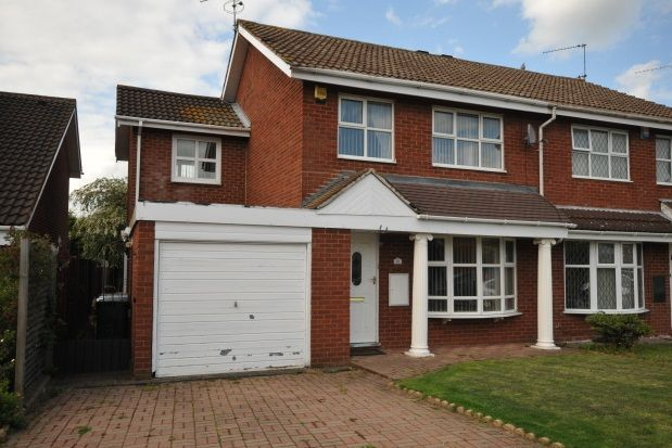 Thumbnail Property to rent in Ashdown Close, Coventry